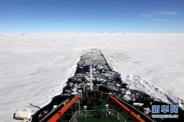 """(第34次南极科考·图文互动)(1)通讯:南极的""""寂寞生存"""""""